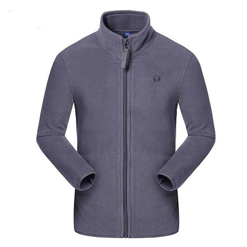 c550010fc69 Compre Hombres Running Chaquetas New Anti Static Polar Fleece Softshell  Outdoor Workout Coat Gimnasio Caliente Ropa Hombre Jogger Jogging Jacket A  $51.74 ...