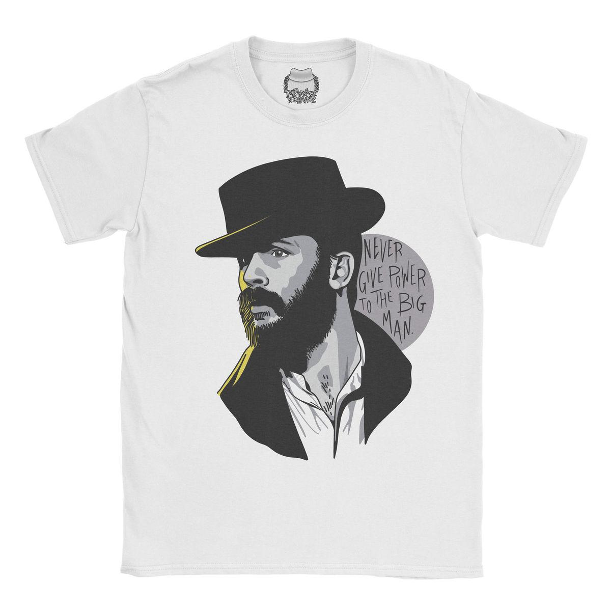 Compre Peaky Blinders Alfie Solomons Camiseta TEE Fan Tom Hardy Top Camiseta  Para Hombre UnisexNew T Shirts Funny Tops Tee New Unisex Tops Divertidas A  ... 6db426fa3c7f3
