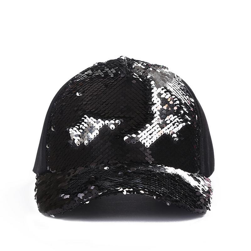 d1efd57ba179c Fashion Casual Ponytail Baseball Cap Women Adjustable Snapback Hat ...