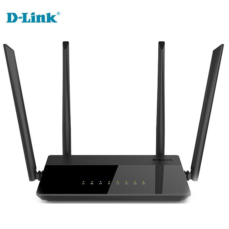 Cheap Discounts D-Link 5g modem Home Fiber WiFi router 1200Mbs English  Russian Firmware 2 4G/5Ghz Gigabit Smart Wireless Router