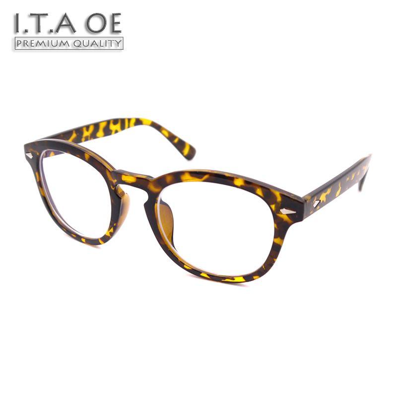 88546ea59a ITAOE Model Johnny Depp Acetate Men Optical Prescription Glasses Eyewear  Frames Spectacles 144mm Frame Spectacles Men Optical Eyewear Frames Online  with ...