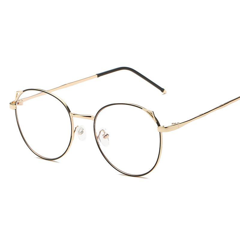 ae3e62d09 Compre Óculos Redondos Do Vintage Frame Feminino Marca Designer Gafas De  Sol Espetáculo Simples Óculos Gafas Óculos Eyewear De Daliangzhou, ...