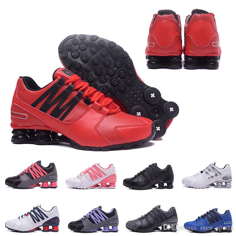 bcffe5236 Купить Оптом Nike Shox Gravitg Новых Высокое Качество Мужчины Классический  Tlx Avenue 803 Доставить Oz Chaussures Femme Кроссовки Спортивный Тренер ...