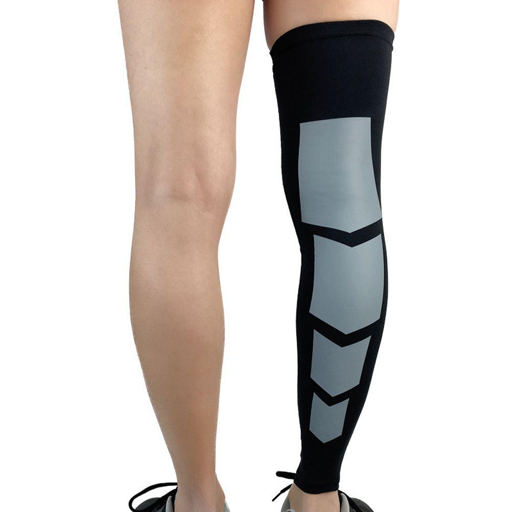 3f503883a9 2019 Unisex Calf Compression Leg Sleeve Shin Guard Support Calf Socks For  Men Women Running Cycling Hiking Badminton From Teawulong, $32.97 |  DHgate.Com