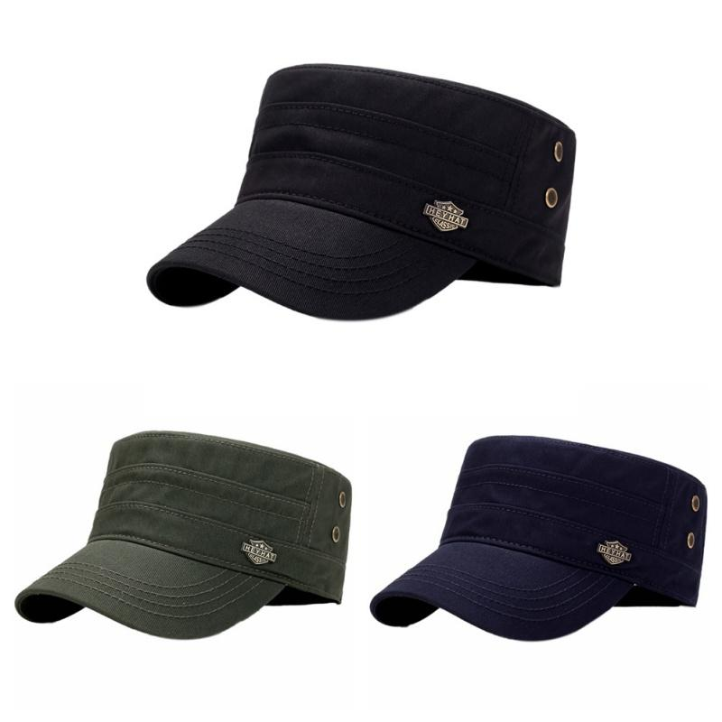 7451061edae 2019 Good! Flat Top Tennis Cap Men Women Adjustable Sunshade Portable Hat  Head Wear Sportswear Accessories Rn From Cbaoyu