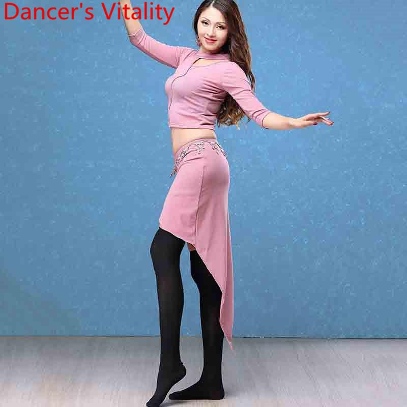 b6ff53c1cb1e 2019 New Fashion Belly Dance Costume Oriental Indian Dancing Top Cut ...
