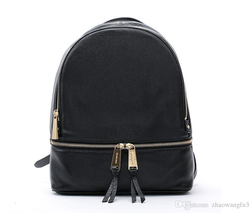 ec47cef80dde Backpacks Designer 2018 Fashion Women Lady Black Red Rucksack Bag ...