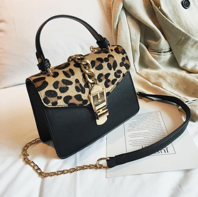 Factory Direct Brand Women Bag Street Photography Trend Leopard