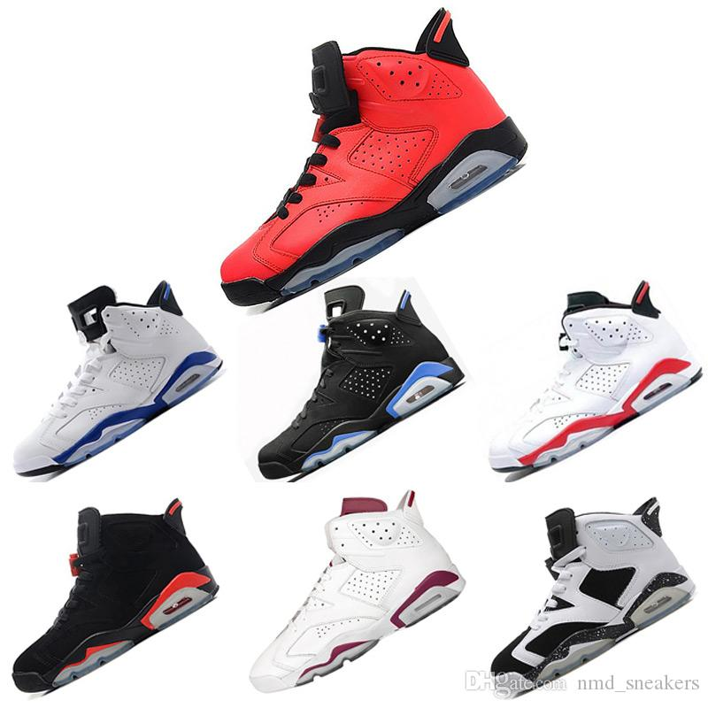 2018 Cheap Basketball Shoes Sneaker 6s Man Unc Black Cat Infrared ... 69127bd938ed