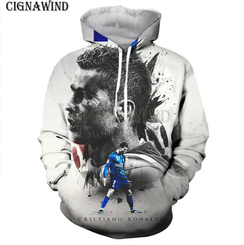 d9f62942c55 2019 Hot Men/Women 3D Print Cristiano Ronaldo Sweatshirt Hoodies Tops  Pullover Y39 From Hj272211689, $23.35 | DHgate.Com