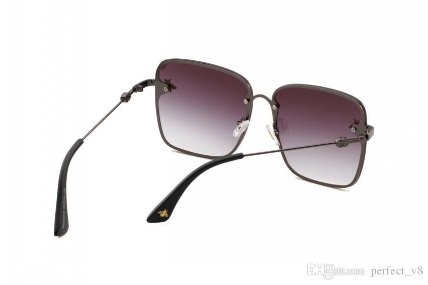 Lusso 2200 occhiali da sole le donne di disegno di marca di modo popolare estate occhiali stile con l'Api di protezione UV di alta qualità con Logo