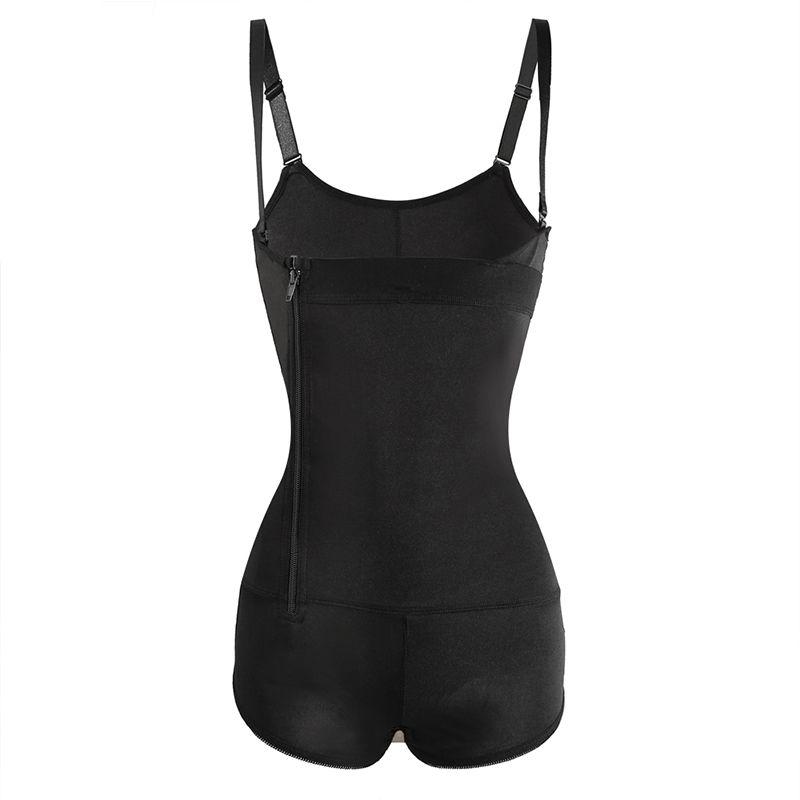 89eec8817298 Women Sexy Body Shapers Front Zipper Corset Shapewear Slimming ...