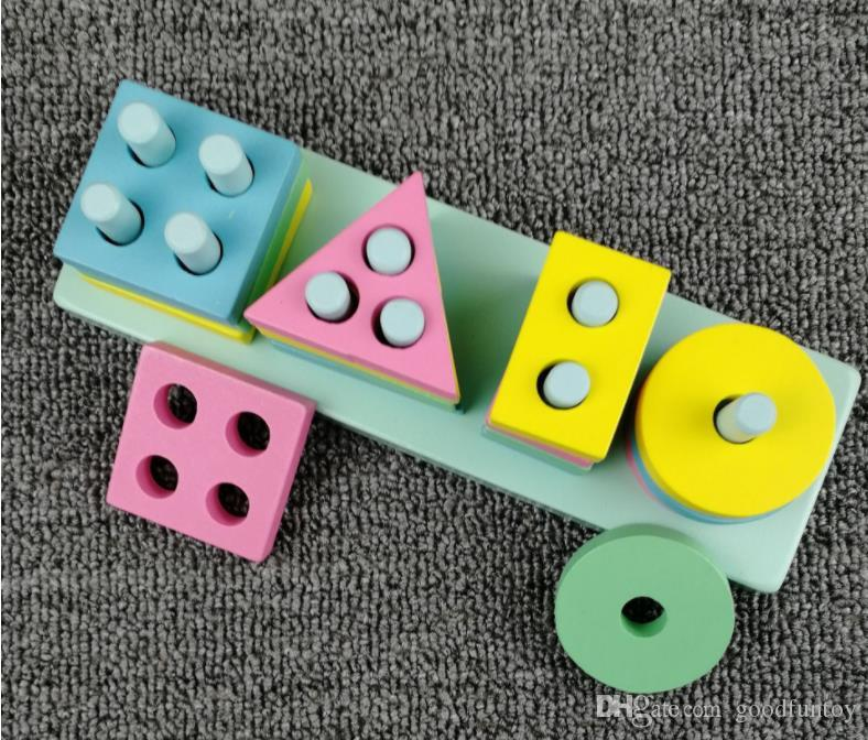 Cognitive Figure on Shape Matching of Toys 1 to 3 Years Old Boys and Girls with Four Columns