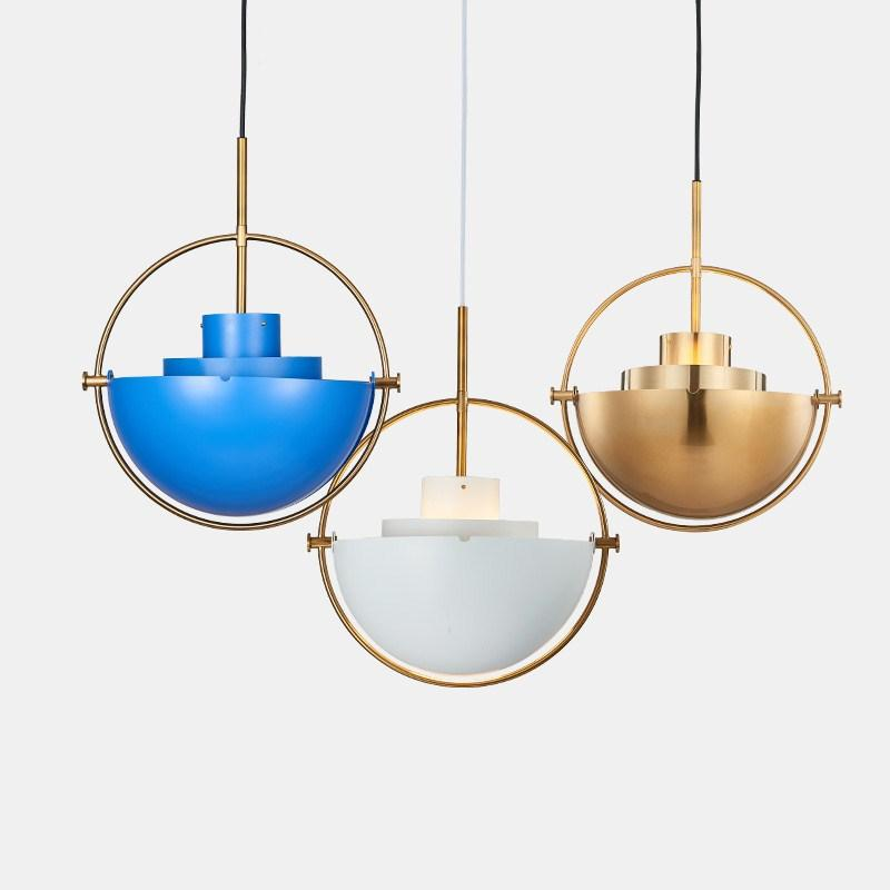 Nordic Creative Metal Gold Pendant Light Multi GUBI Pendant Lamp Kitchen  Living Room Hanging Lamp Light Fixtures Home Lighting Pendant Light Pendant  Lamp ...