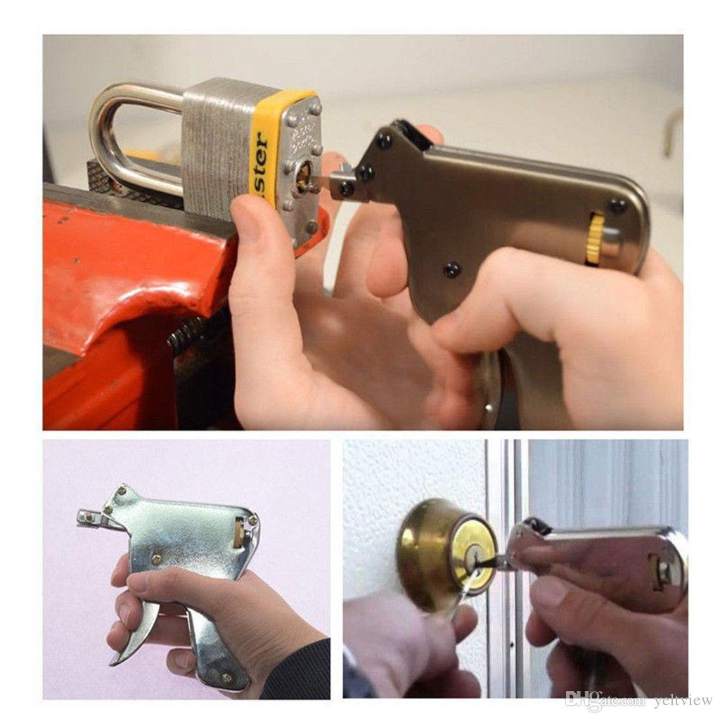 LSL Strong EAGLE Lock Pick Gun Herramientas de cerrajero Lock Pick Set Conjunto Lock Lock Opener Lockpick Picking Tool Bump Key Padlock
