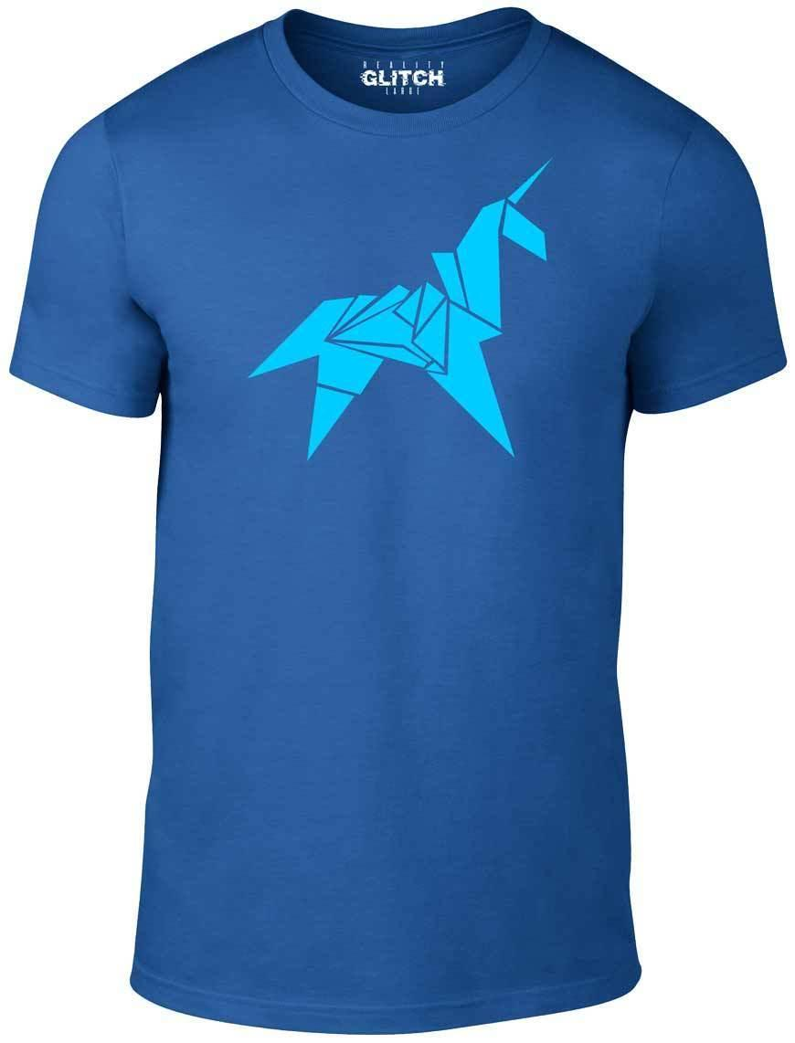 Origami Unicorn T-Shirt - Inspired by Blade Runner movie t shirt retro scifi 80s Funny free shipping Unisex Casual tee gift