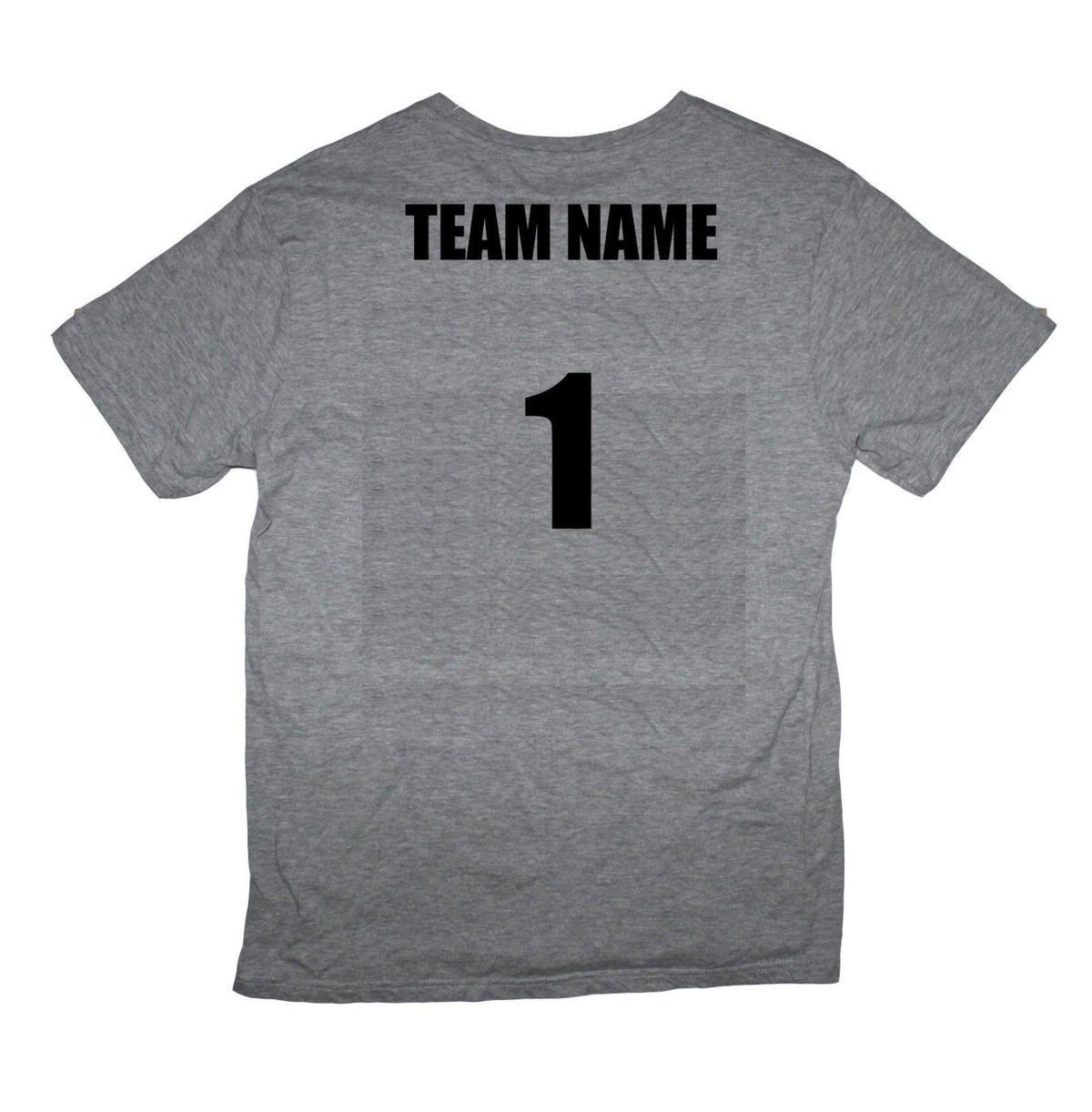 Soccer Team Training Shirts Set 15 Team Name Number 17 Sizes Kids