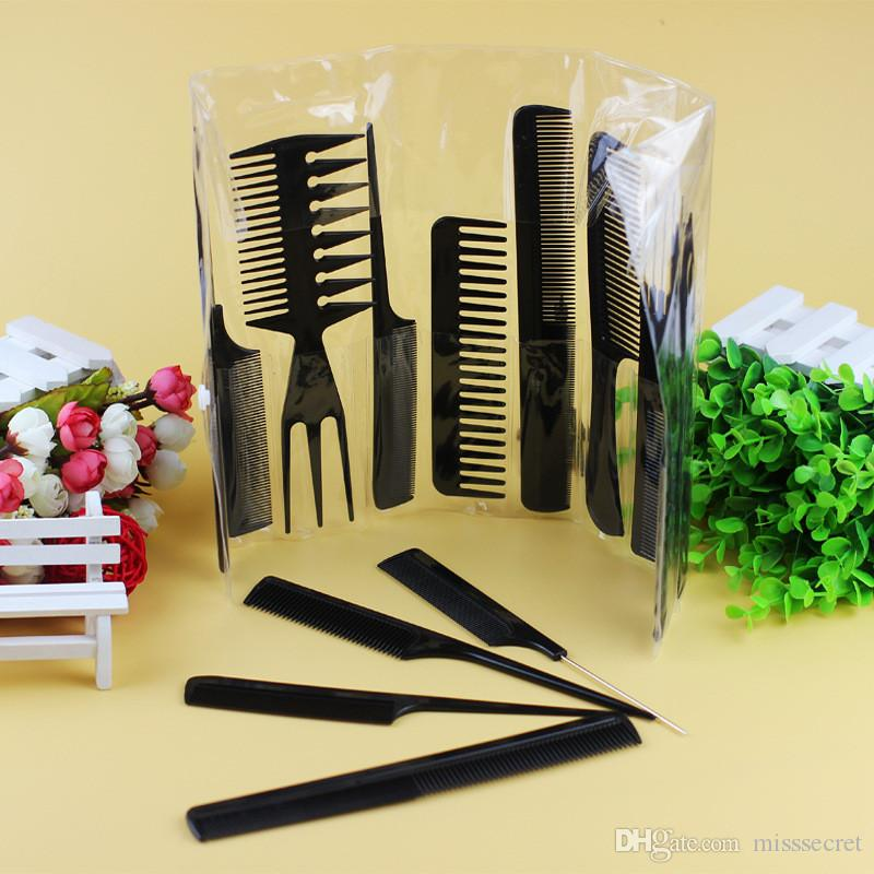 Professional Hair Brush Comb Salon Barber Anti-static Hair Combs Hairbrush Hairdressing Combs Hair Care Styling Tools