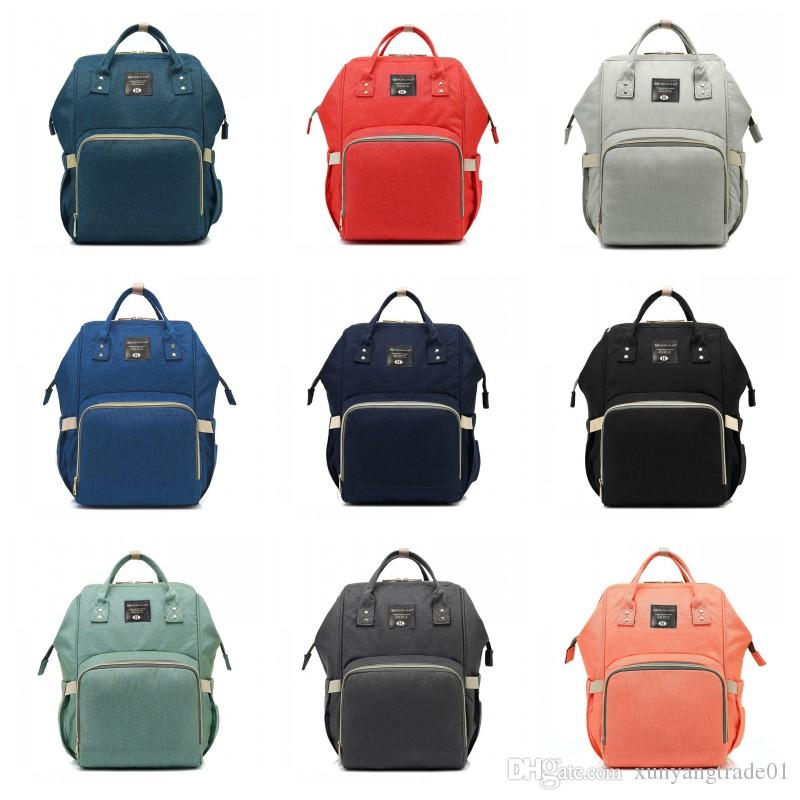 141e3509be14 Fashion Mother Bags 2018 Mommy Backpacks Nappies Bag Mother Maternity Diaper  Backpack Large Volume Travel Outdoor Bags Y23 Online with $27.98/Piece on  ...