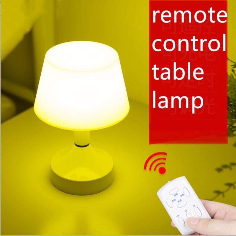 2019 Mini Led Remote Control Table Lamp Dimmable Eye Protection Usb