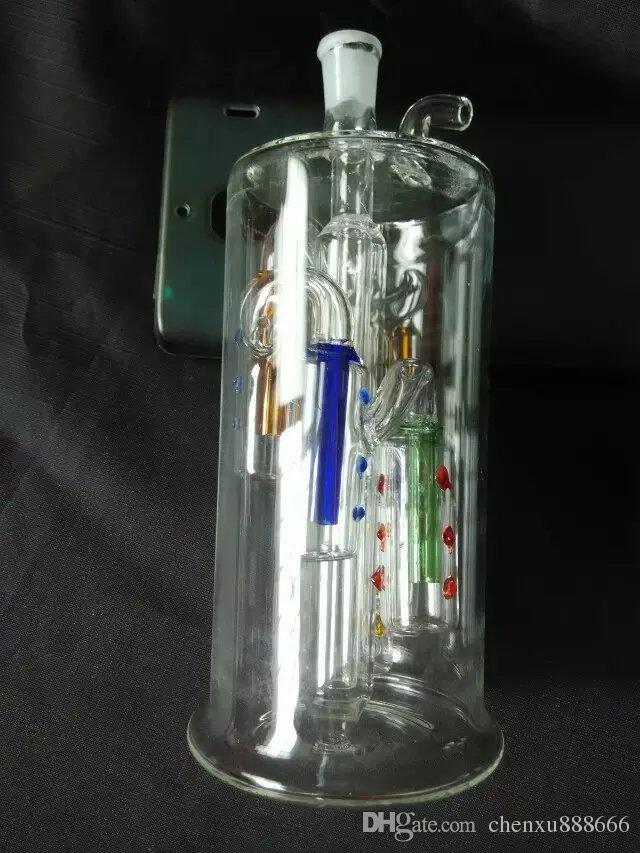 Бутылка воды BBK Оптовая стеклянный кальян, стеклянные водопроводные фитинги, Бесплатная доставка