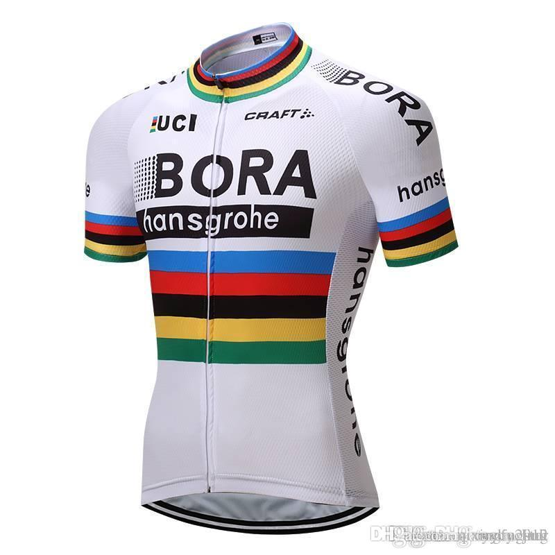 dbfe342ad 2018 Pro Team Bora Cycling Jersey Bicycle Wear Clothing Men S Maillot Ropa  Bici Ciclismo Mtb Bike Shirts Quick Dry Bicycle Clothing N02 Plaid Shirts  Tie Dye ...