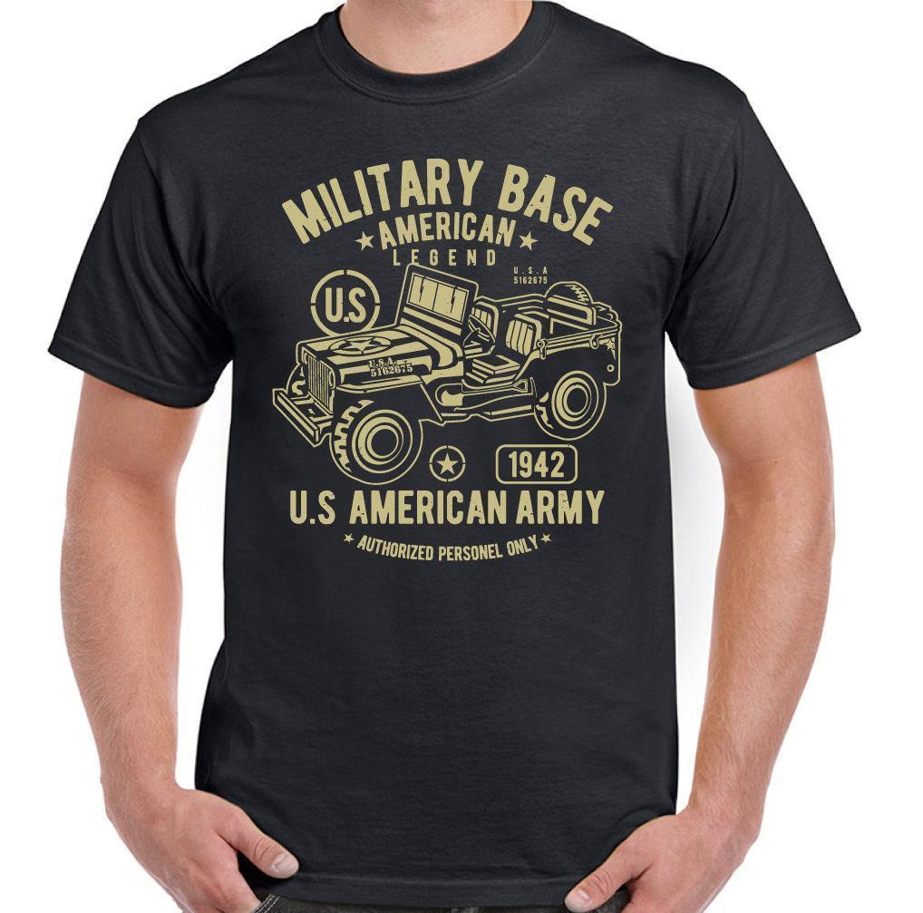 Vêtements Garçons (2-16 Ans) Enfants: Vêtements, Access. Enfants Garçons Filles Américain Jeep T-shirt Armée Américaine Usa Militaire