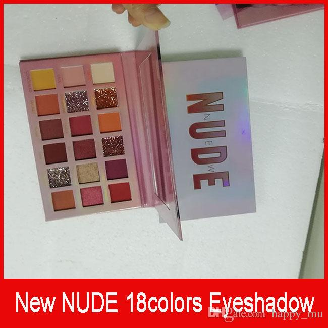 NEW NUDE 18 colors eye shadow Shimmer Matte eye shadow Beauty Makeup Eyeshadow Palette 18 colors