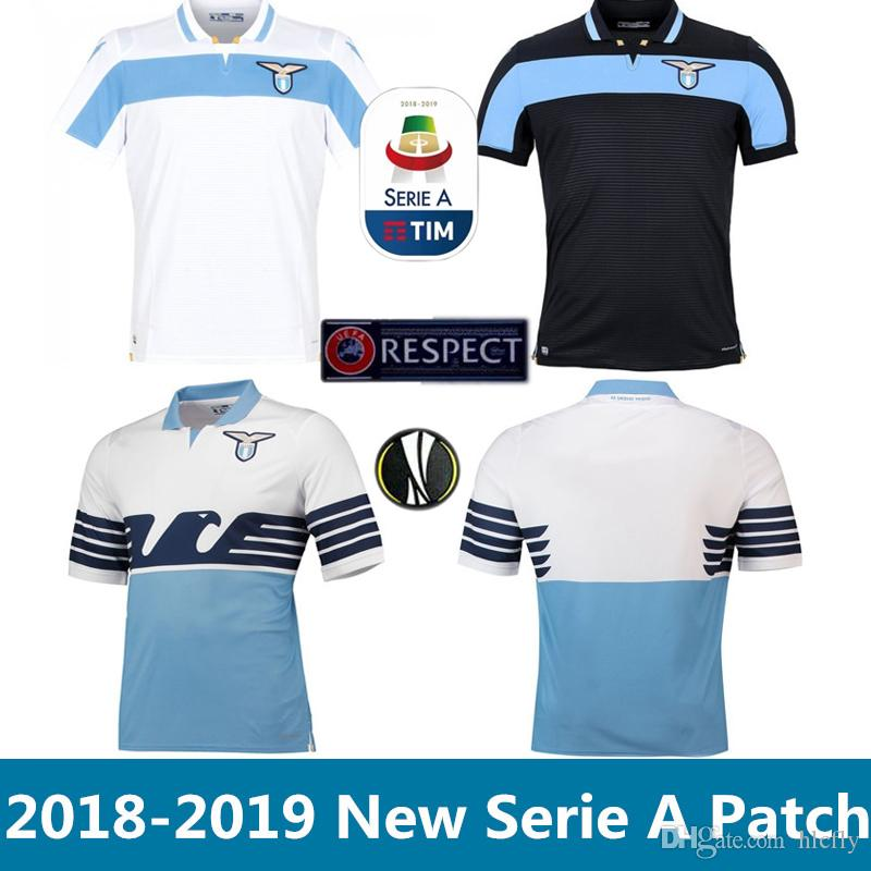 deef7d02b 2019 2018 2019 Lazio Soccer Jersey Home Away 3rd 18 19 IMMOBILE SERGEJ  LULIC LUIS ALBERTO LUCAS Football Shirt Size S 2XL From Hlcfly, $15.23 |  DHgate.Com