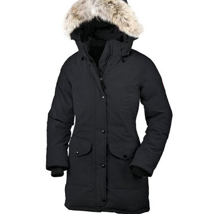 2019 Winter Brand Goose Women S Canada Down Chilliwack Real Fox Fur Bomber  Hooded Warm Coat Fur Windbreaker Parka From Ebay001 453e3667a3