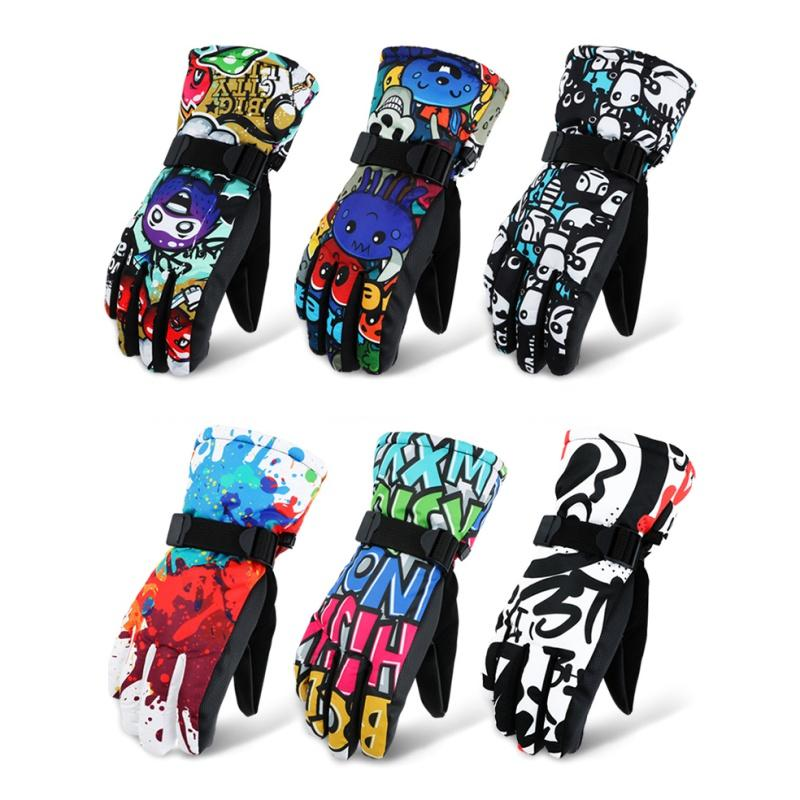 e30163ff87 2019 Winter Warm Skiing Gloves For Men Women Chinese Style Skateboard  Thickness Kids Teenager Gloves Outdoor Sports Hiking Camping From  Ekuanfeng