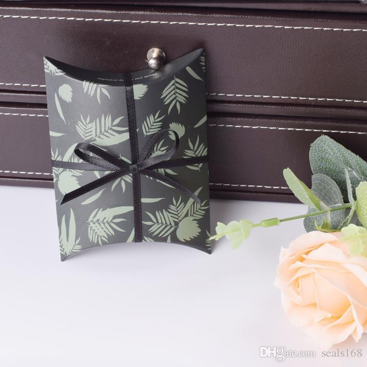 Düğün Favor Hediye Çantası Tatlı Kek Hediye Şeker Wrap Kağıt Kutuları Çanta Yıldönümü Partisi Doğum Günü Bebek Duş Kutusu HH7-978 Sunar