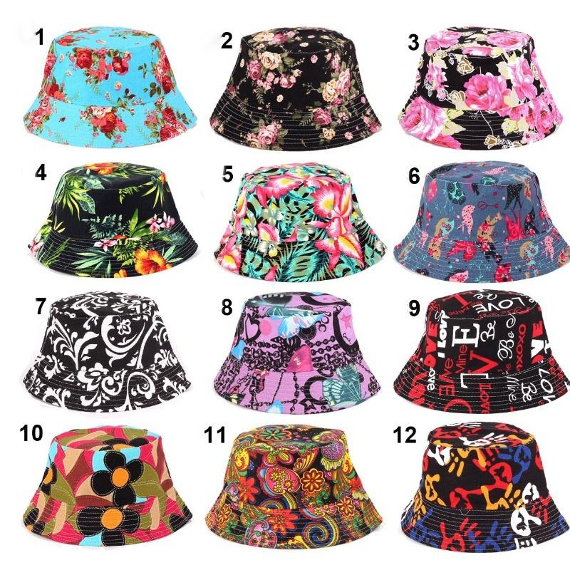 2019 2018 Unisex Men Women Hunting Fishing Outdoor Cap Floral Bucket Sun Hat  Hunting Unisex Sun Tops Cap Buckets Fashion Fishing From Challengerdefier 95aba2a5c92f