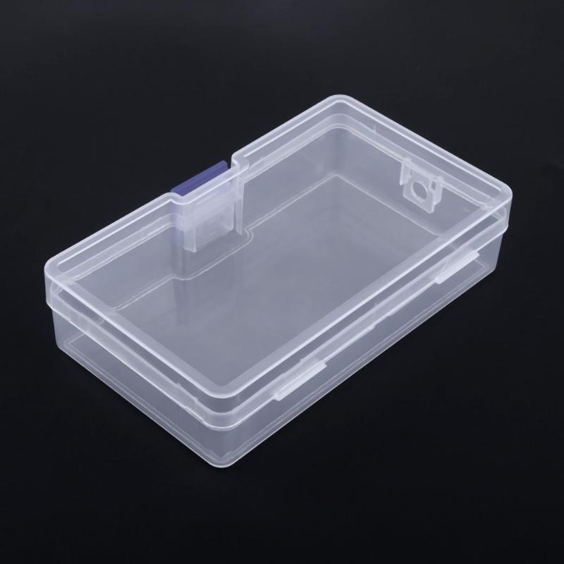 2018 Parts Box Collapsible Rectangle Plastic Boxes Transparent