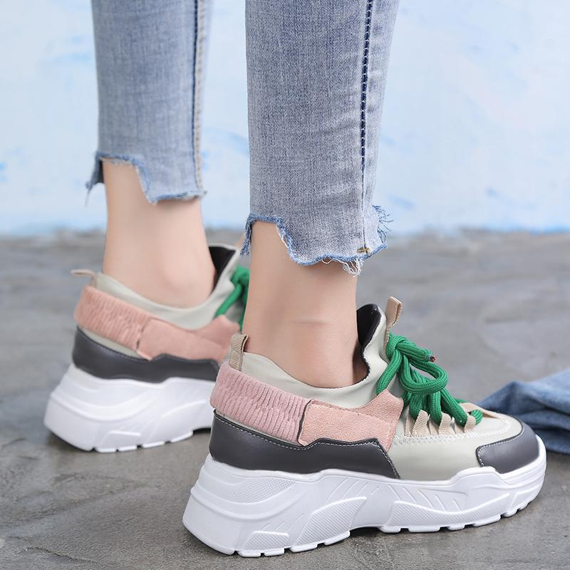 c8e7281bf88 Wholesale Spring Autumn Women Casual Shoes Comfortable Platform Shoes Woman  Sneakers Ladies Trainers Height Increasing Chaussure Formal Shoes For Men  Work ...