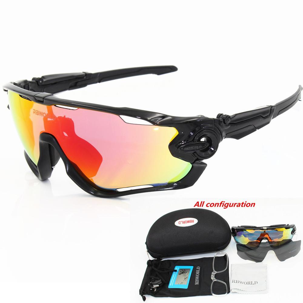 Compre 3 Lente Polarizada Óculos De Proteção Das Mulheres Dos Homens Ciclismo  Óculos De Sol Eyewear Em Execução Esporte Óculos De Bicicleta MTB TR90  Quadro ... a4b2396fe3