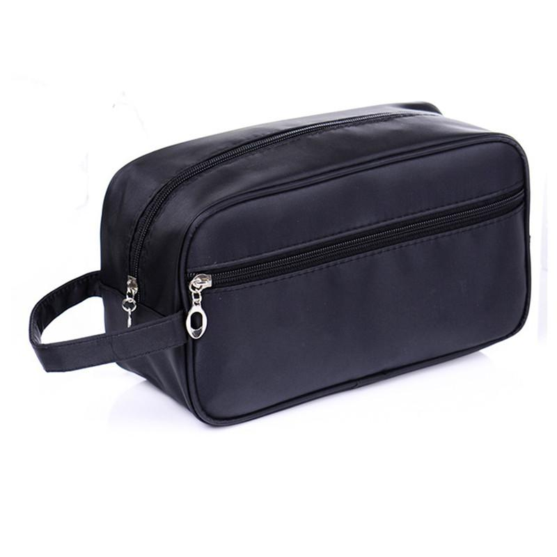 febe979c7cd 2019 Men S Double Cosmetic Toiletry Bag Large Capacity Waterproof Cosmetic  Bag Organizer Washing Makeup Special Purpose Accessories From Mingshoe001,  ...