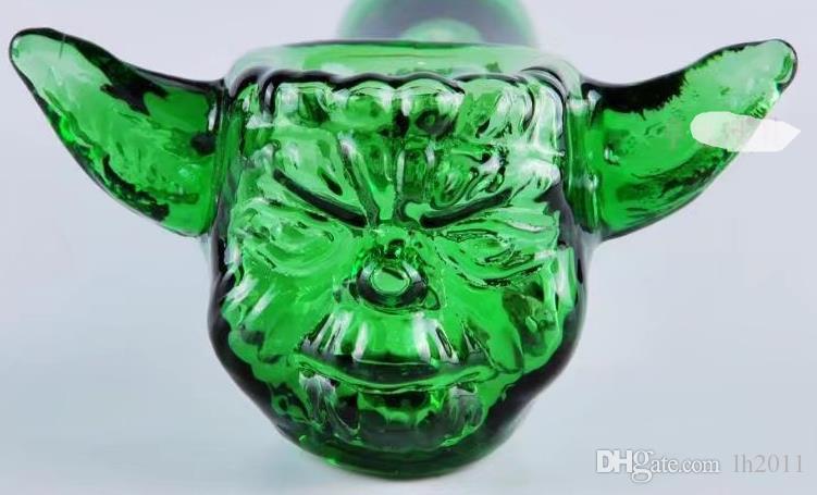 Santo bestias tubo de vidrio, mayorista Tubos Bongs quemador de aceite de vidrio Pipas de agua de tuberías de vidrio plataformas petrolíferas fumadores envío
