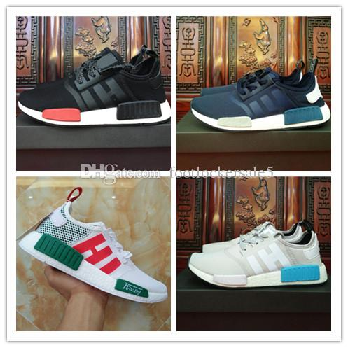 New Men Women NMD R1 Running Shoes Lovers Real Boost Sports Primeknit Runner Cheap Sneakers Street Fashion Boots Eu 36-45 popular online manchester great sale cheap price buy cheap sneakernews online shop from china outlet cheap quality r10uVbzP
