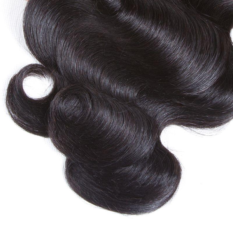 8A Brazilian Hair Body Wave 3 Bundles Brazilian Body Wave Brazilian Virgin Hair Weave Human Hair Extensions Can be dyed