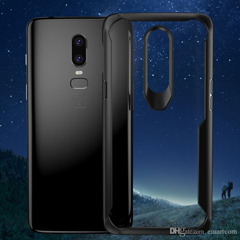 best website 01257 aa09e Ultra-thin 360 Degree Coverage Full Body Case Protection Hard PC Full Cover  Case for Oneplus 6 One plus 6+1 Clear Protect Shockproof Cases