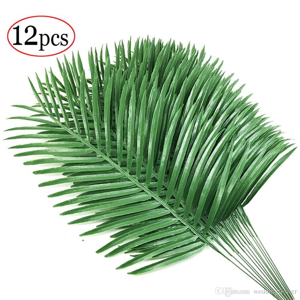 artificial palm plants leaves imitation leaf artificial plants green