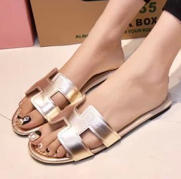 cdded3e171a New Summer Slipper Women Slippers Slides Women Sandals Slippers Word Hollow  out Women Single Sandals Non-slip Fashion
