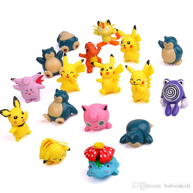 Cute Baby Toy PVC Action Figures Collection Pet Shop Video Cartoon Model Doll For Boy girl Birthday Festivel Kids Gift