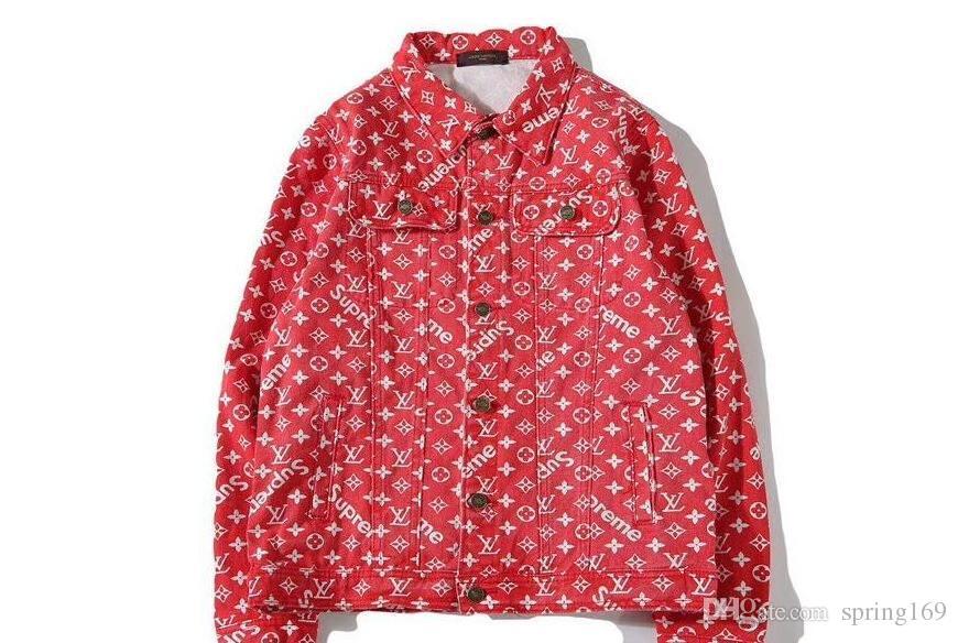 d16a296fba92 KANYE WEST Men And Women Denim Jacket Denim Clothing 424 Justin ...
