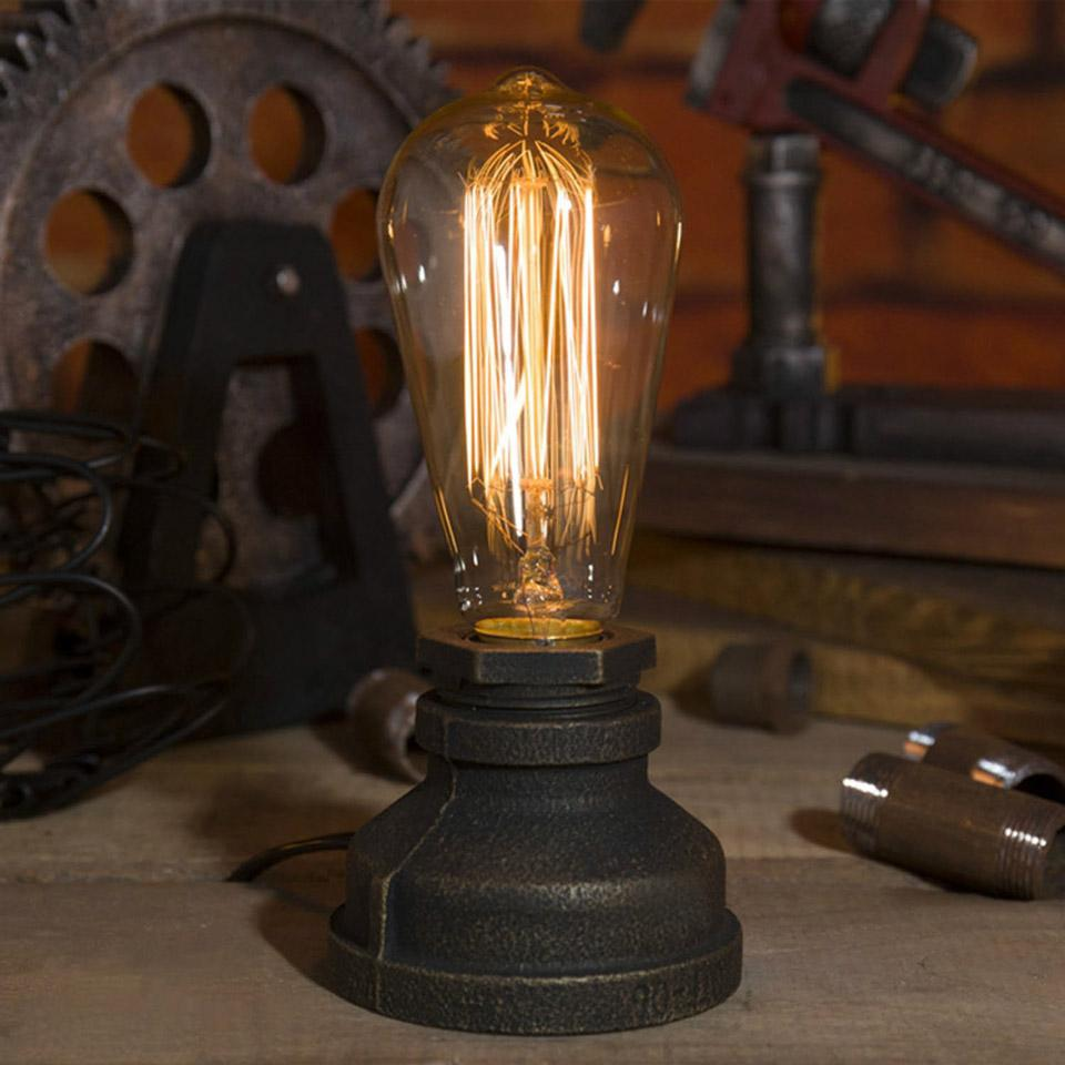 2019 Lighting Loft E27 Vintage Industrial Metal Edison Desk Lamps