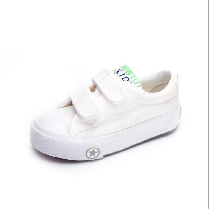 6a8555c496844 Acheter Chaussures Blanches Pour Enfants Chaussures Blanches En Toile Pour  Enfants Basses