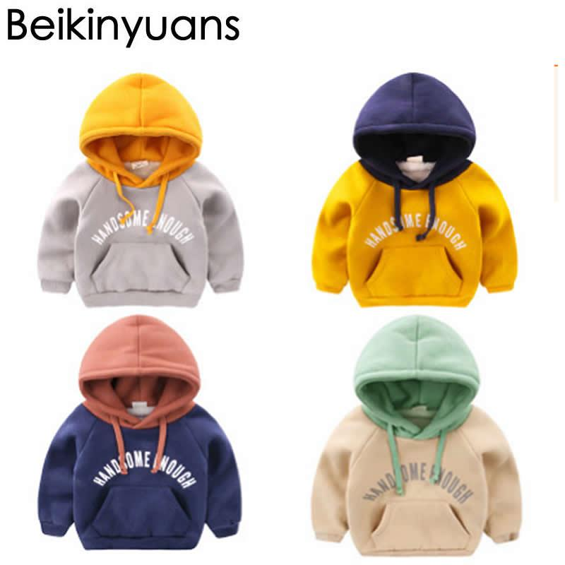 08080f6d8f 2019 Boy Sweater Hoodies Hooded Warm Plus Cashmere Sweater Coat Winter Baby  Clothes Children'S Baby Clothing Thick Shirt Tide From Humom, $24.04 |  DHgate.