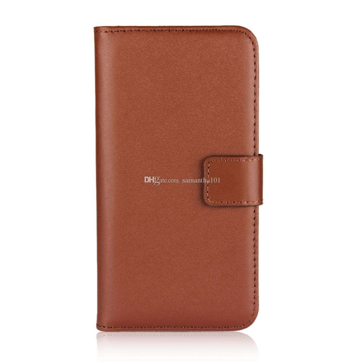 Handy Folding Case Protective Cover for iPhone X Genuine Leather Book Flip Cover Case Protective Case for iPhone X