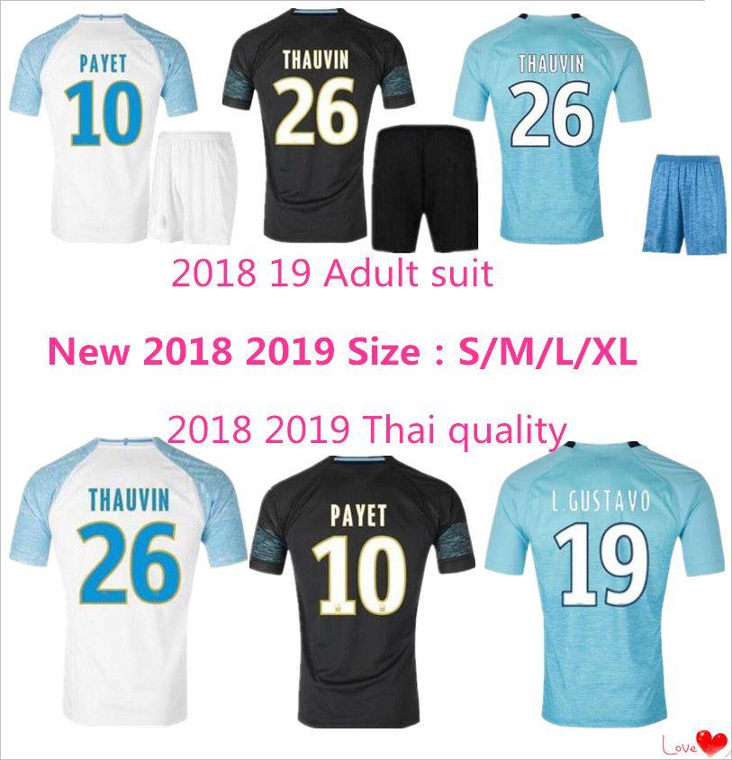tenue de foot Olympique de Marseille nouvelle